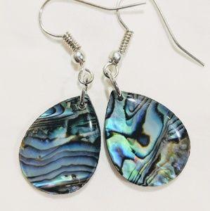 Jewelry - Handmade Abalone earrings